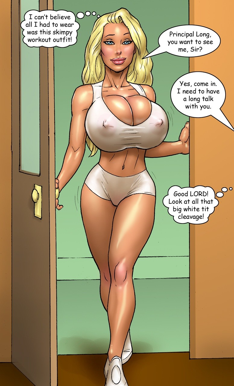 Comic book porn blonde big boobs can suggest