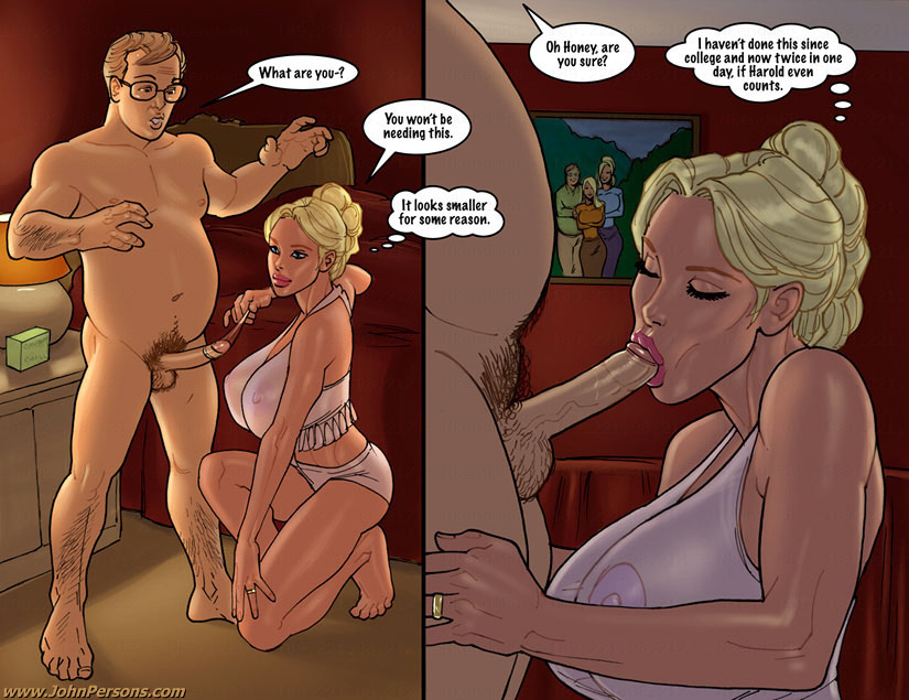 2 hot blondes big black cock comic