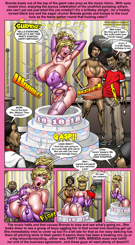 cartoon comic Big tit porn blonde